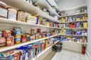 Food Glorious Food!  Nothing like a full pantry! - 6811 CLIFTON RD, CLIFTON