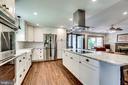 Wow...gorgeous gourmet kitchen design  in 2017 - 5708 GLENWOOD CT, ALEXANDRIA
