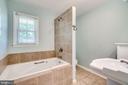 Hall full bath - 5708 GLENWOOD CT, ALEXANDRIA