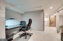 Extra work space - 5708 GLENWOOD CT, ALEXANDRIA