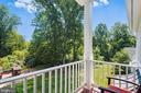 Master Bedroom Balcony - 6811 CLIFTON RD, CLIFTON