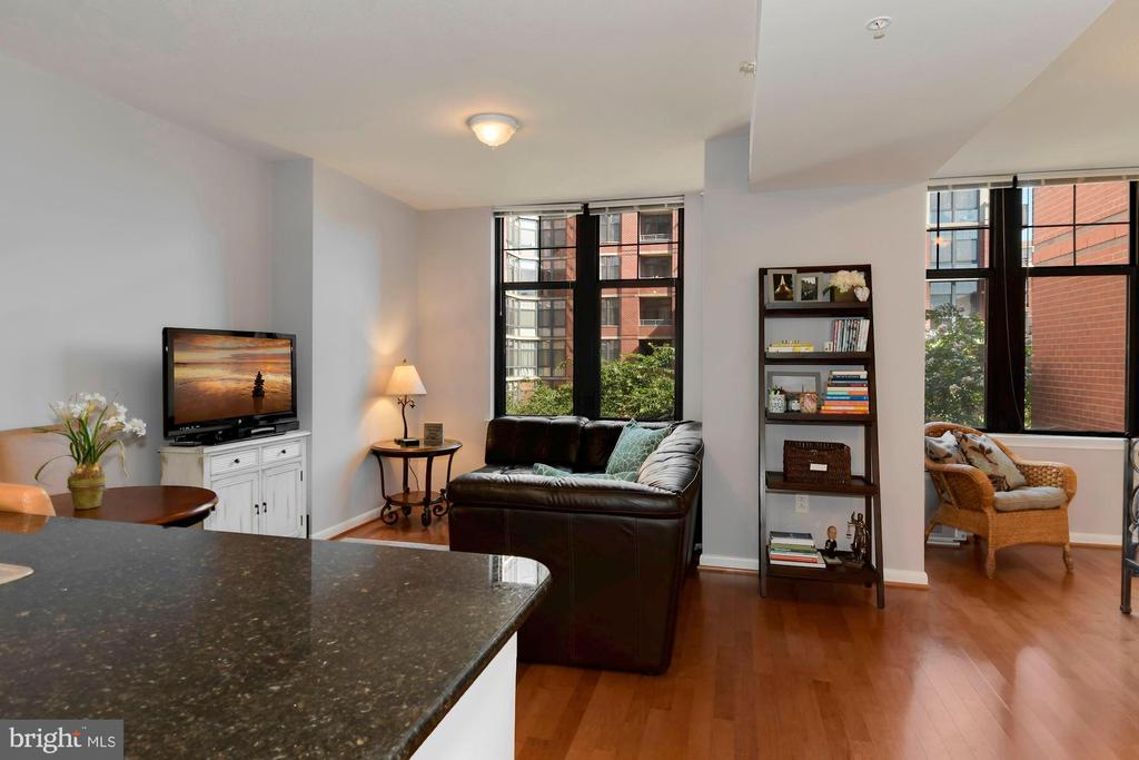 Large studio in Clarendon! - 1021 N GARFIELD ST #323, ARLINGTON