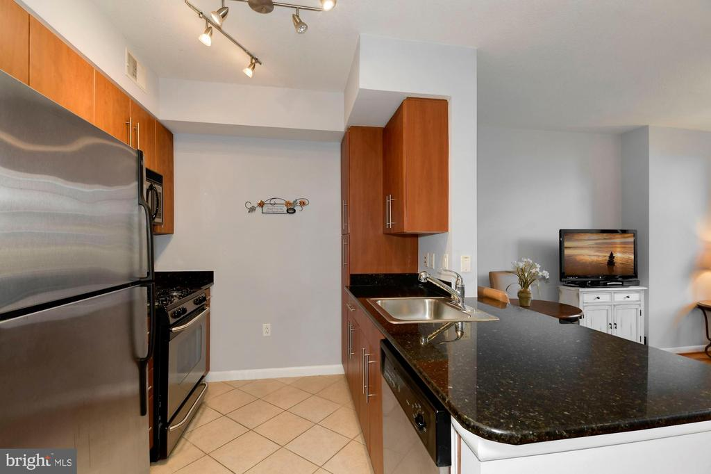Open kitchen! - 1021 N GARFIELD ST #323, ARLINGTON