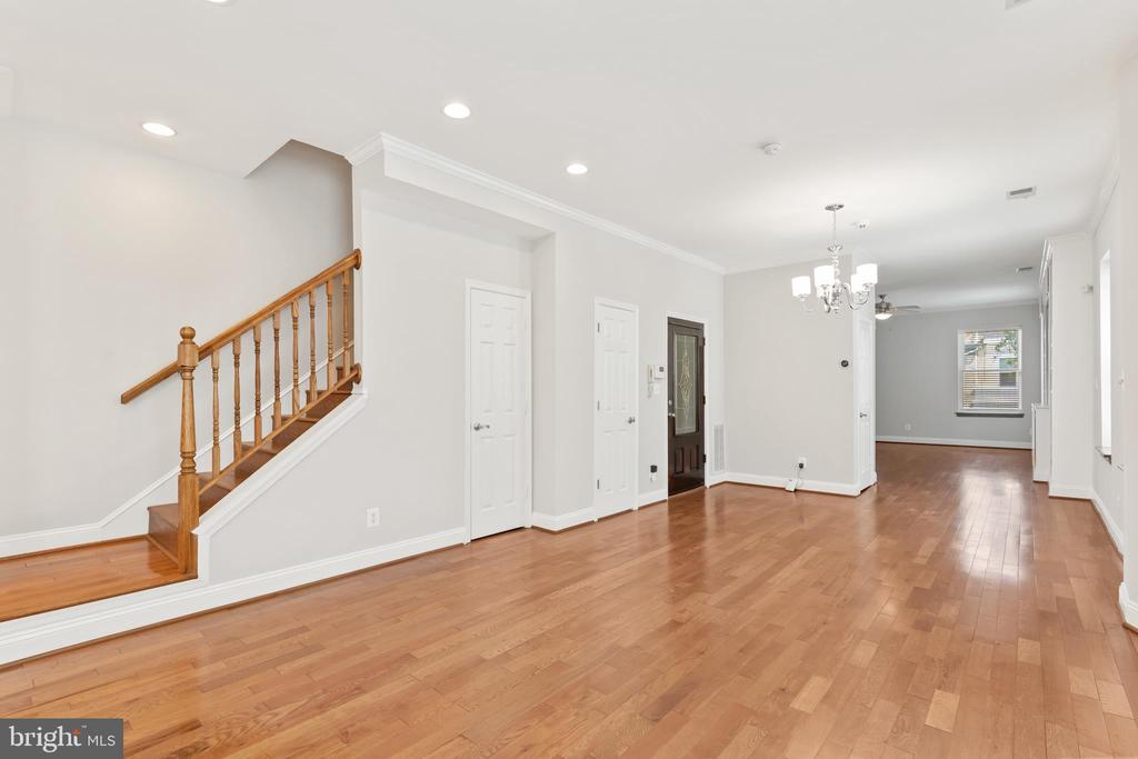 View of Stairs to Upper Level - 3518 10TH ST NW #B, WASHINGTON