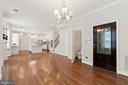 View of Front Door & Dining Space - 3518 10TH ST NW #B, WASHINGTON
