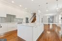 View of Kitchen to Dining Area - 3518 10TH ST NW #B, WASHINGTON