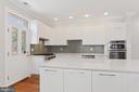 View of Main Kitchen & Deck Door - 3518 10TH ST NW #B, WASHINGTON
