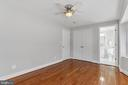 Bedroom 2 - Alternate View - 3518 10TH ST NW #B, WASHINGTON