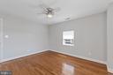 Bedroom 3 - Alternate View - 3518 10TH ST NW #B, WASHINGTON