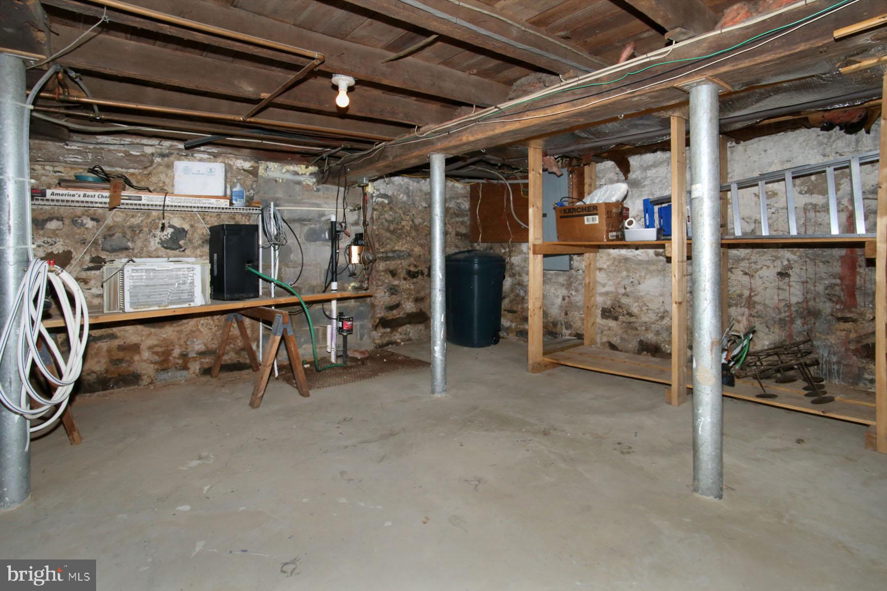 Main house basement