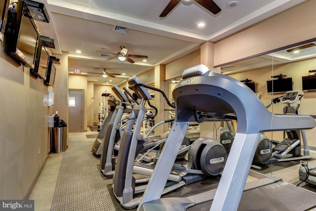 Cardio theater fitness center - 1000 N RANDOLPH ST #809, ARLINGTON