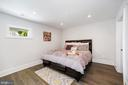 Bedroom 2 - spacious and relaxing - 407 RANDOLPH ST NW #1, WASHINGTON