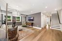 Hardwood floors throughout - 407 RANDOLPH ST NW #1, WASHINGTON