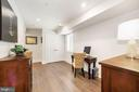 3rd bedroom  with custom closet - 407 RANDOLPH ST NW #1, WASHINGTON
