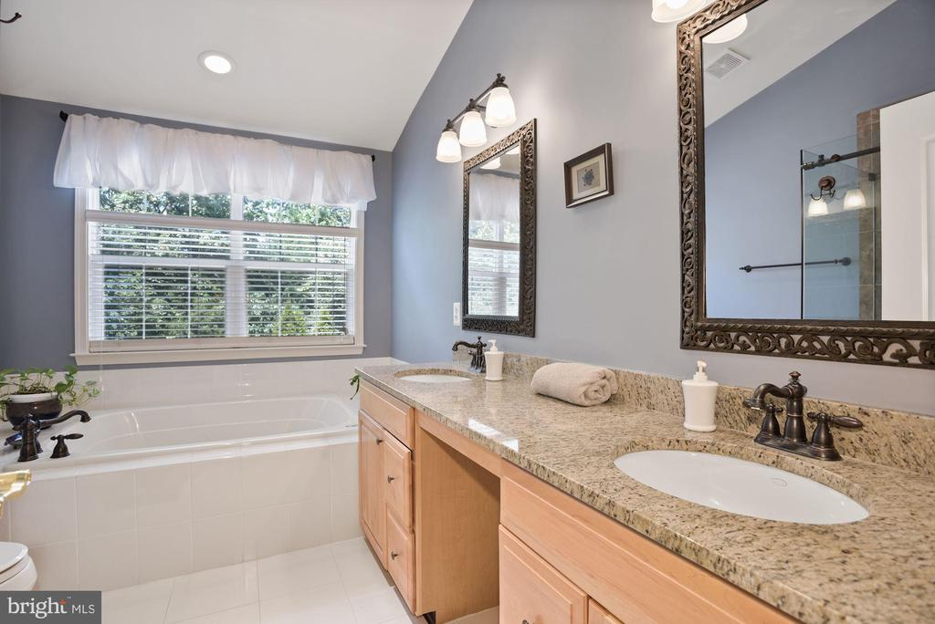 Recently remodled bathroom with granite - 20157 VALHALLA SQ, ASHBURN