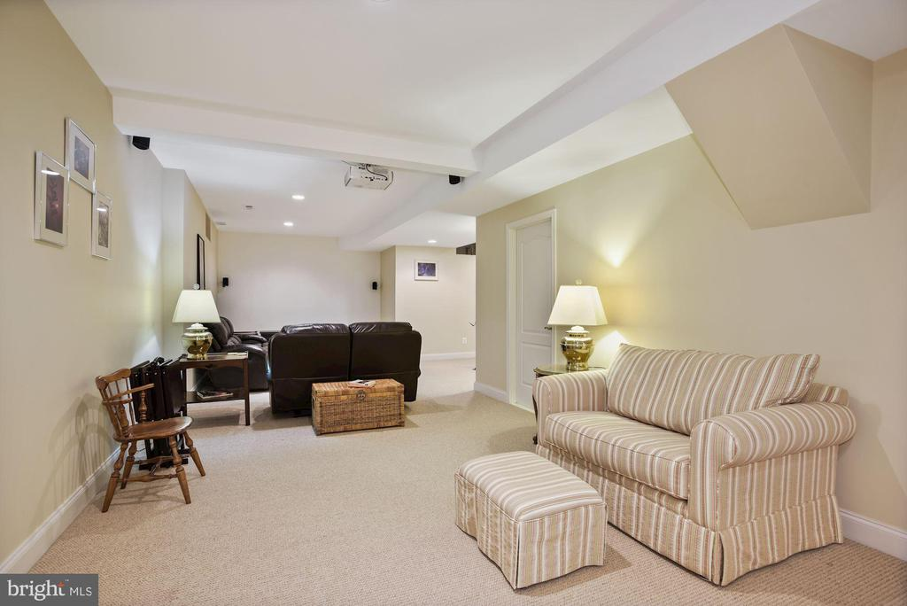 Lower level is perfect for a theater room - 20157 VALHALLA SQ, ASHBURN