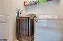 Washer and dryer are on bedroom level (yay!) - 3110 RIVERVIEW DR, COLONIAL BEACH