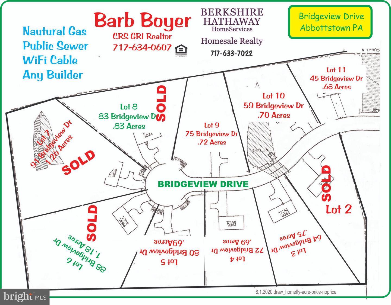 Land für Verkauf beim Abbottstown, Pennsylvanien 17301 Vereinigte Staaten