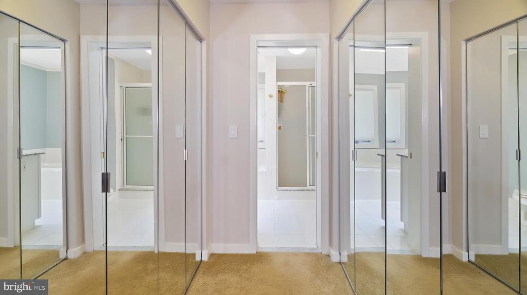 Owner closet - 10717 MEADOWOOD DR, VIENNA