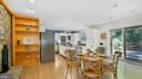 Heath room to kitchen - 10717 MEADOWOOD DR, VIENNA