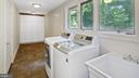 Laundry room & mud room - 10717 MEADOWOOD DR, VIENNA