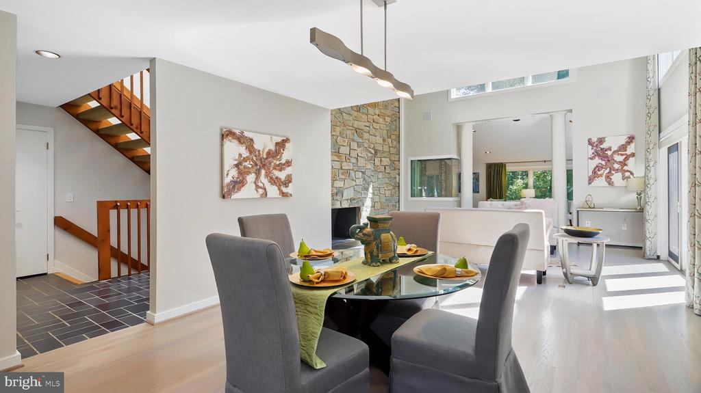 Dining Room - 10717 MEADOWOOD DR, VIENNA
