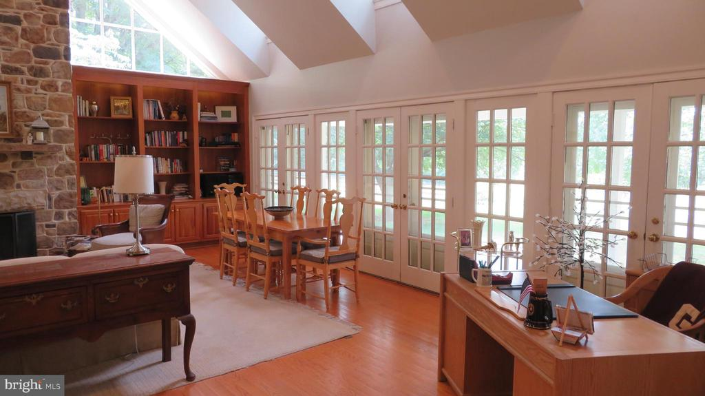 French Doors in Great Room - 25 CLOREVIA LN, FLINT HILL