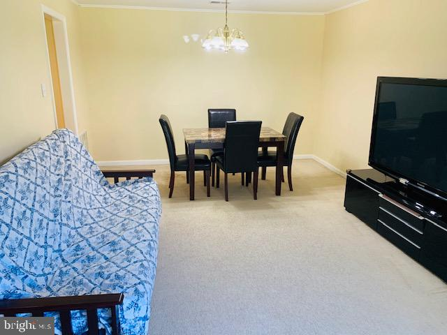 Open living room/dinning room - 4620 CONWELL DR #146, ANNANDALE