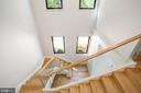 Primary Staircase - 2700 FOXHALL RD NW, WASHINGTON