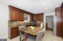 Eat-in Kitchen - 4124 HUNT RD, FAIRFAX