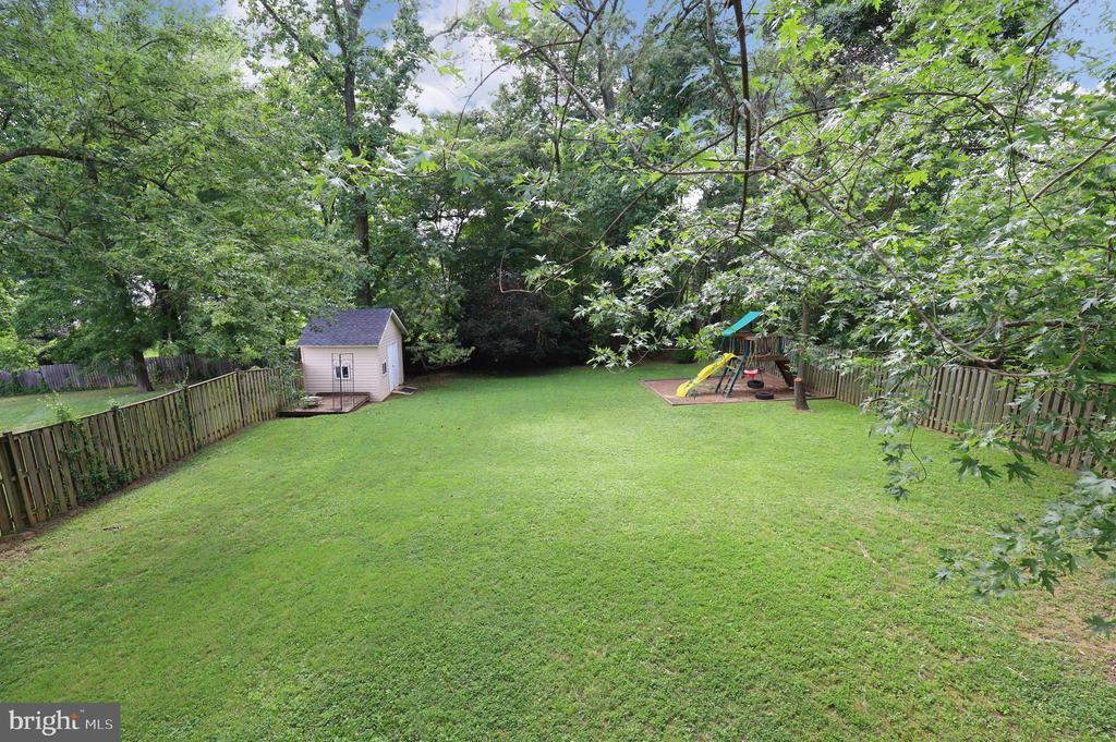 View from Deck - 4124 HUNT RD, FAIRFAX