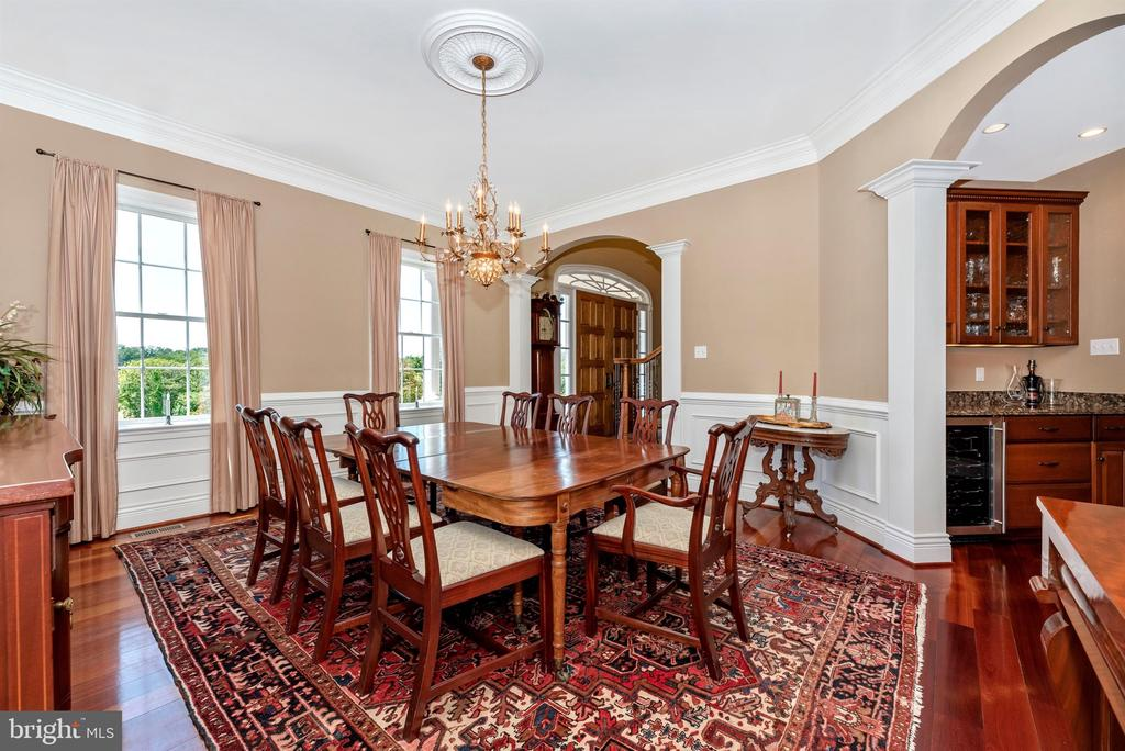 Formal dining room - 12788 BARNETT DR, MOUNT AIRY