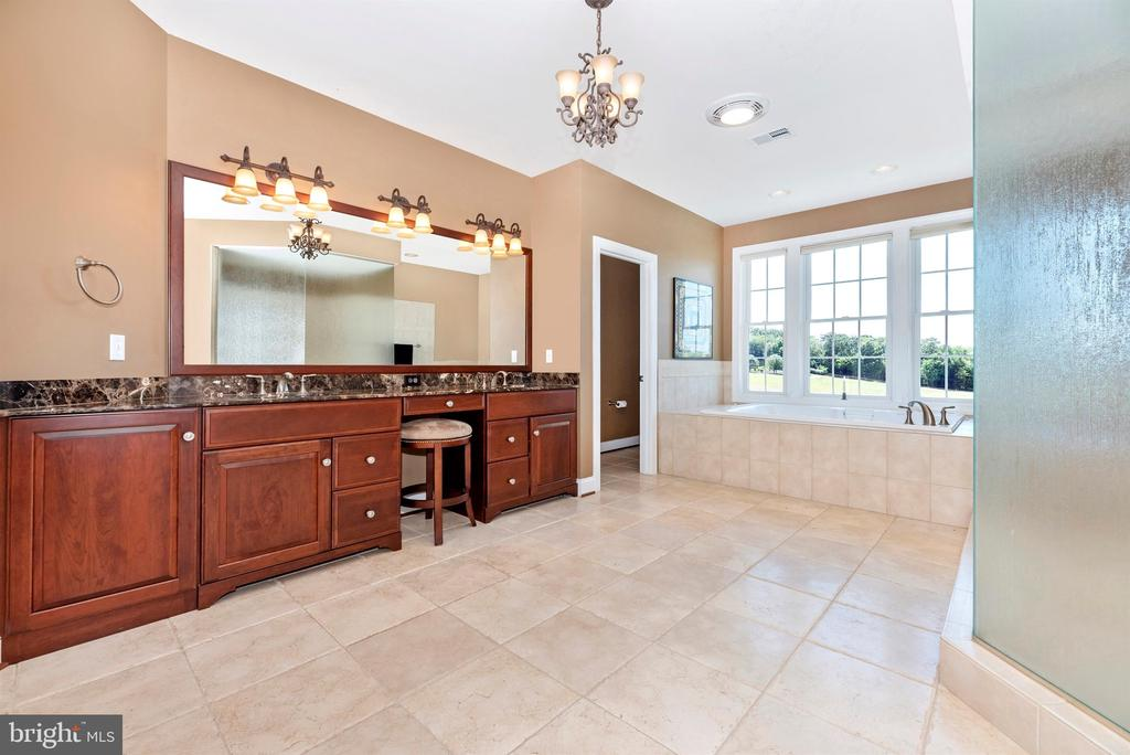 Luxury master bath - 12788 BARNETT DR, MOUNT AIRY