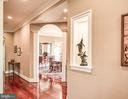 Built ins with lights - 12788 BARNETT DR, MOUNT AIRY