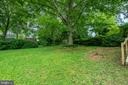 Large .23 Acre Lot - Backyard View - Awesome Tree - 9115 FLOWER AVE, SILVER SPRING