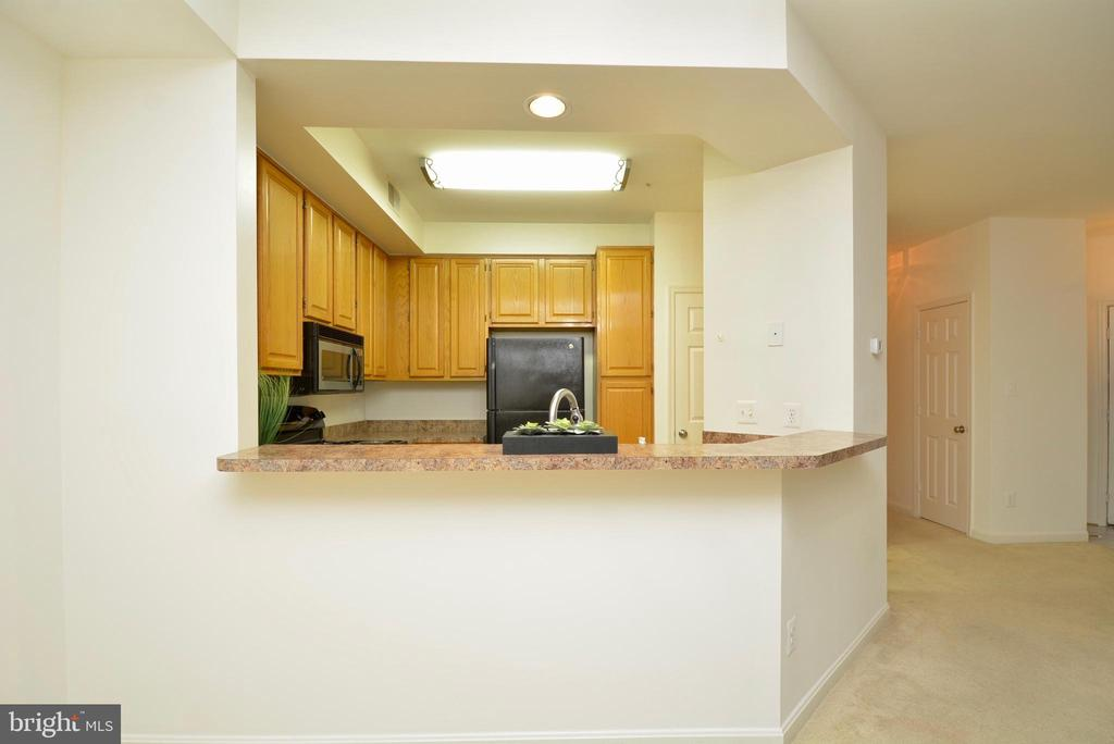 A view of the kitchen - 7004 ELLINGHAM CIR #45, ALEXANDRIA