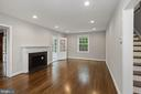 Real wood floors - 1813 HERNDON ST N, ARLINGTON