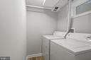 Lower level laundry room - 1813 HERNDON ST N, ARLINGTON