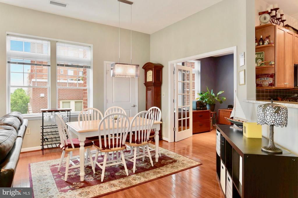 Bonus room and pantry off of dining area - 309 HOLLAND LN #215, ALEXANDRIA