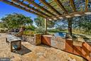Pool House Outdoor Kitchen - 8080 ENON CHURCH RD, THE PLAINS