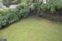 Private backyard View #1 - 4712 EDGEWOOD RD, COLLEGE PARK