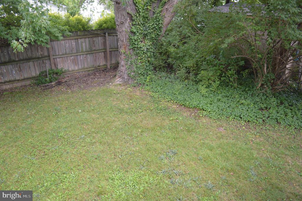Private backyard View #2 - 4712 EDGEWOOD RD, COLLEGE PARK
