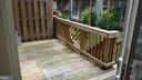 View of Deck from Kitchen - 20363 FALLSWAY TER, STERLING