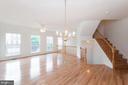 Living Room - 5302 WALDO DR, ALEXANDRIA