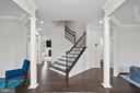 Foyer, Grand Staircase - 4509 MONROVIA BLVD, MONROVIA