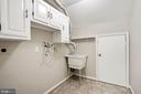 Upper Level Laundry - 7783 BALLSTON DR, SPRINGFIELD