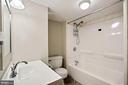 Full Bath - Lower Level - 7783 BALLSTON DR, SPRINGFIELD