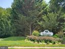 Belmont sign at Westmoreland Dr entrance - 26 WESTMORELAND DR, STERLING