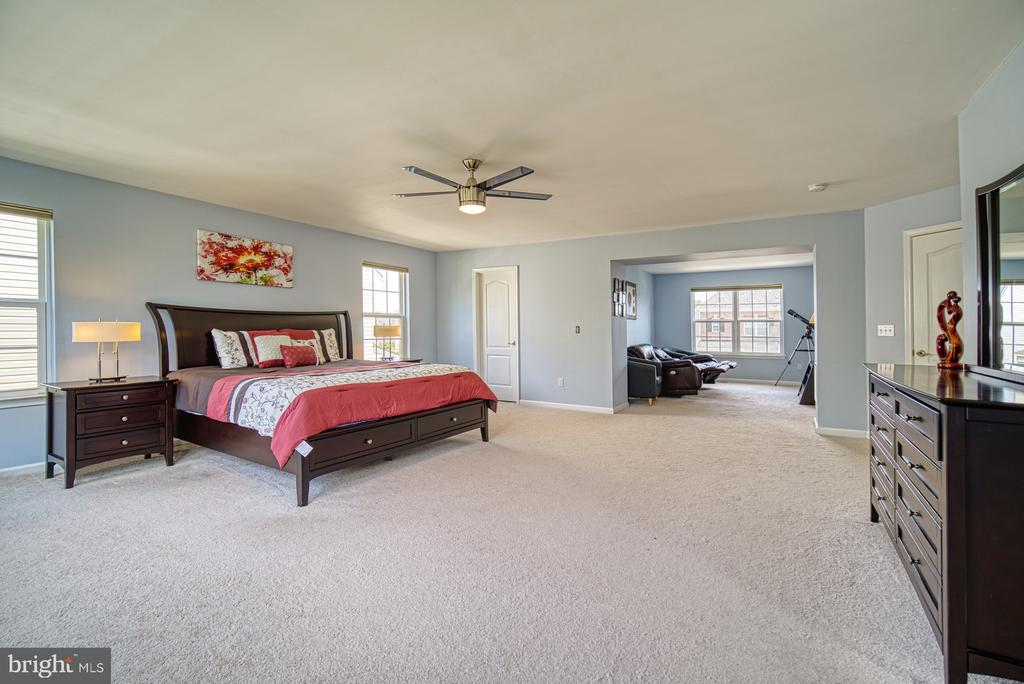 Expansive Master Suite has Large Walk-in Closet - 42105 AUTUMN RAIN CIR, BRAMBLETON