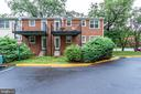 Lower-level rear exit - 2515-A S WALTER REED DR #A, ARLINGTON